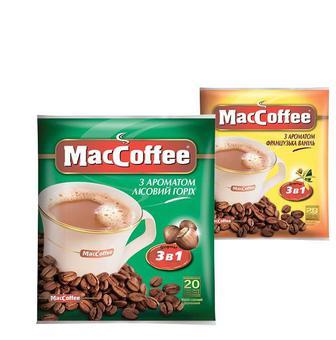 Кава розчинна та напій Маккфофе 18г