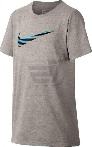 Футболка дитяча Nike Lightspd Swoosh р. L сірий 863804-063