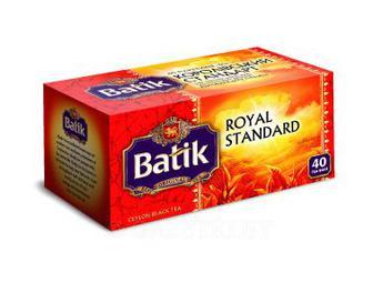 Чай черный Батик Королевский стандарт 40п*2г к/уп