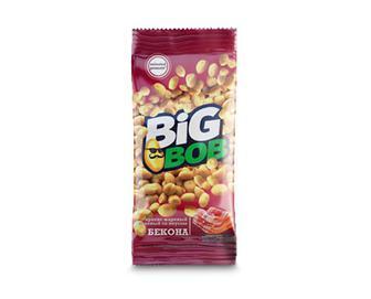 Арахіс Big Bob смажений солоний зі смаком бекону, 70г