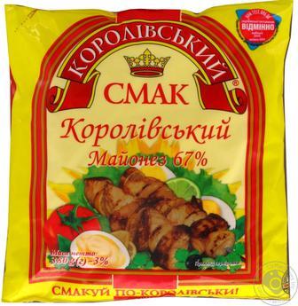 Майонез Королівський смак Королевский 67% 380г