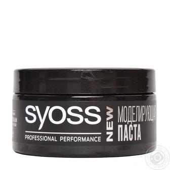 Паста для волос Syoss Invisible Hold моделирующая текстурирующая 100мл