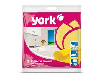 Серветки York для прибирання, 3 шт./уп.