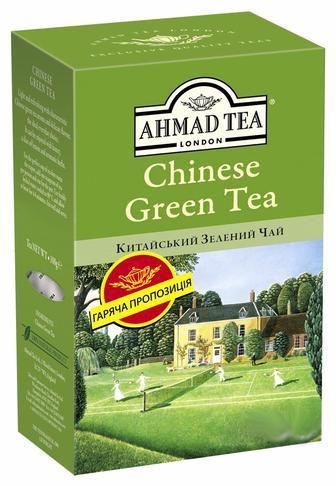 Чай чорний або зелений  Ahmad 100 г