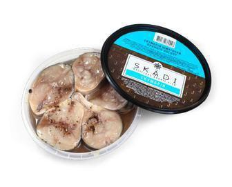 Скумбрія шматочки Skadi слабосолоні, 200 г