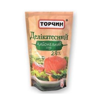 Майонезний соус  Делікатесний Торчин  160 г
