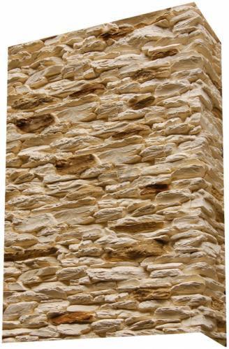 Плитка гіпсова кутова Живий камінь Монтана 0,55 пог.м