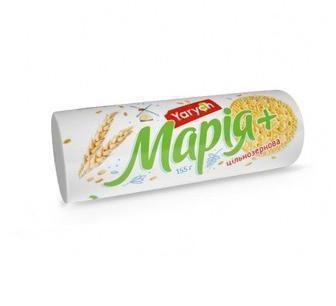 Печиво Yarych звисівками/Оригінальне/Цільнозернове Марія 155г