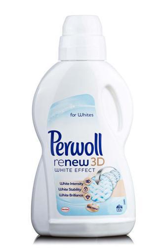 Засіб Perwoll White&Fiber для делікатного прання 900мл