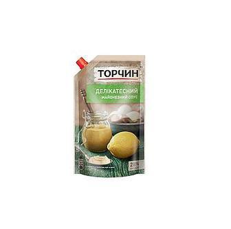 Майонезний соус Торчин Делікатесний 28% 160г