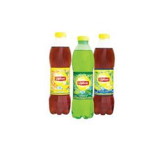 Чай Чорний зі смаком персика, лимона Зелений Ліптон, 1 л