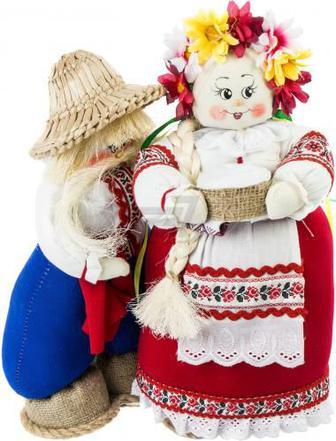 Ляльки інтер'єрні Наталка і Петро 55х53 см