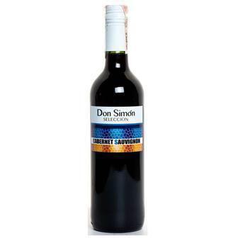Скидка 40% ▷ Вино Шардоне, Каберне Don Simon красн., белое сухое, 0,75 л
