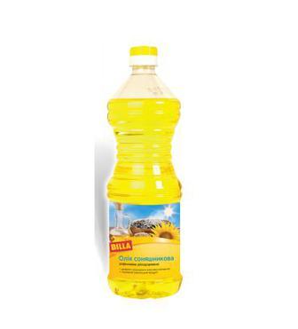 Олія соняшникова BILLA 1 л