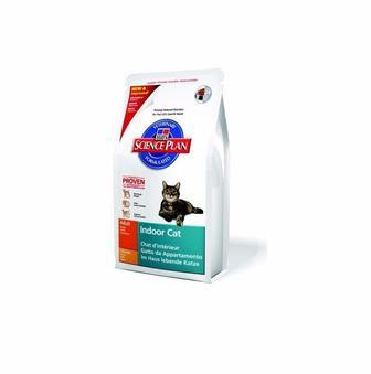 Hills (Хилс) Adult Indoor Cat. Сухой корм для кошек, живущих в помещениях, 0,3 кг