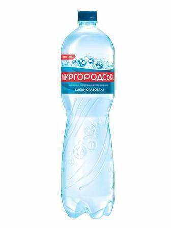 Вода сильногазована Миргородська 1,5л