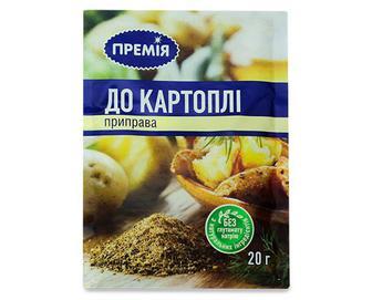 Скидка 24% ▷ Приправа «Премія»® до картоплі, 20г