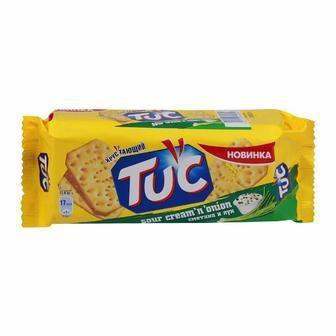 Печиво Тук Крекер сметана і цибуля/ сир 100г