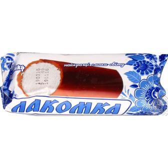Морозиво Лакомка класичне або з какао Laska 100 г