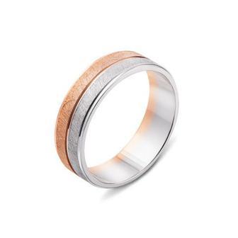 Обручальное кольцо с алмазной гранью. Артикул 10159