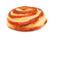 """Булка """"Завиток"""" з абрикосовою начинкою, здобна, Власна пекарня, 210г"""
