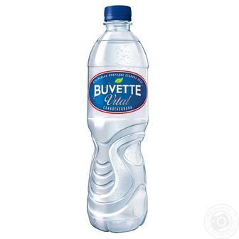 Вода минеральная слабогазированая Buvette Vital 1.5л