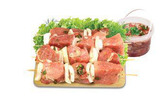 Шашлик свинячий по-кавказьки охолоджений 1 кг