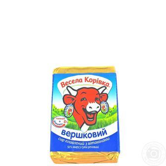 Сир плавлений Весела Корівка 90г