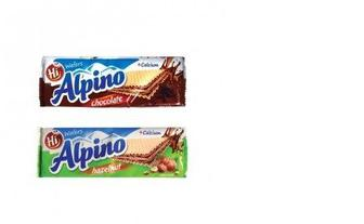 Вафли 140 г, Hi Alpino
