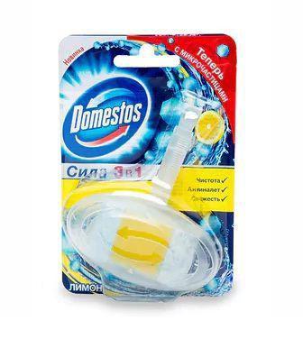 Блок гигиенический для унитаза Domestos Сила 3 в 1 Лимон