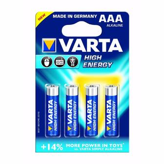 Батарейка  Energy AA BLI 4, AAА BLI 4 Varta