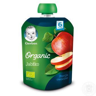 Пюре Gerber органическое яблоко 90г