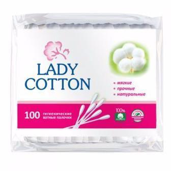 Палички ватні, диски ватні Lady Cotton