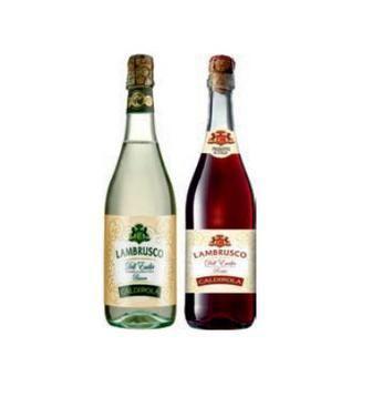 Вино ігристе Lambrusco  Caldirola 0.75 л