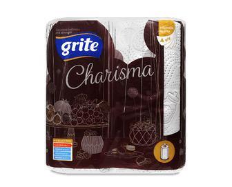 Рушники паперові Grite Charisma, 2шт/уп