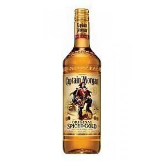 Алкогольний напій на основі рому Captain Morgan Spiced Gold 1л