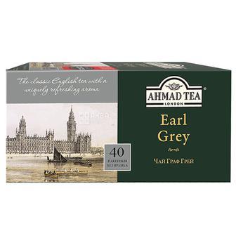 Чай цейлонський чорний «Earl Grey» AHMAD, 40пак