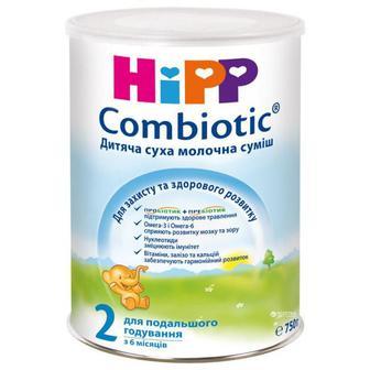 Детская сухая молочная смесь HiPP Combiotiс 2, 350г