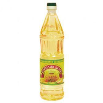 Олія Соняшникова Королівський смак 0.88л