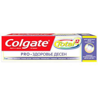 Зубна паста Colgate Total 12 Pro Здоров`я ясен 75мл
