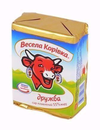 Сир плавлений 50% Весела Корівка 90 г