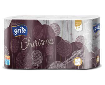 Папір туалетний Grite Charisma, 8 рулонів/уп