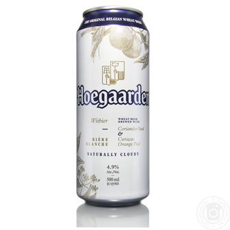 Скидка 30% ▷ Пиво світле нефільтроване Hoegaarden White 0,5л