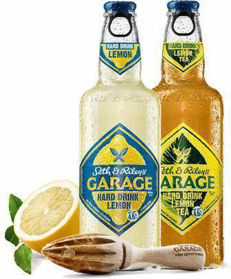 Пиво Garage Hard Lemon, Hard Lemon Tea 044л