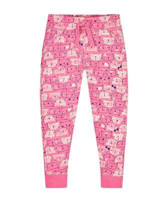 Рожеві штанці з кошеням від Mothercare