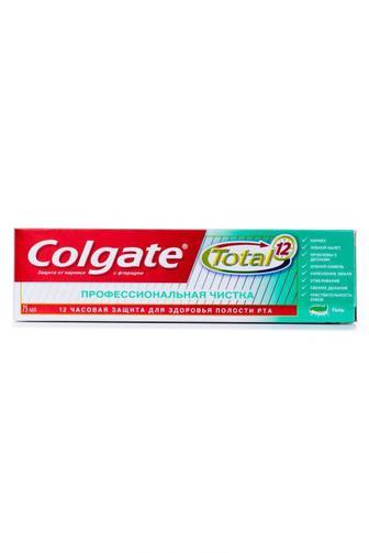 Зубная паста-гель Colgate Тотал 12 Профессиональная Чистка 75мл