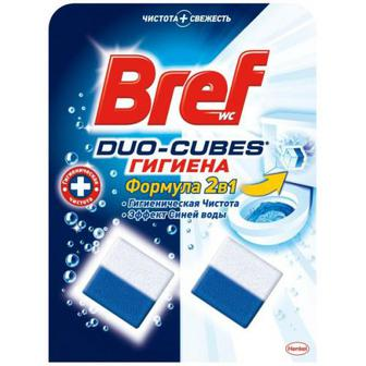 Засіб Bref Wc Duo-Cubes для туал. гігієна 2шт