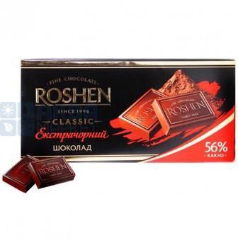 Шоколад Рошен 90 г экстрачерный