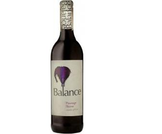 Вино Balance Best Blends Pinotage Shiraz 0,75 л