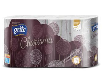 Папір туалетний Grite Charisma 8 рулонів/уп